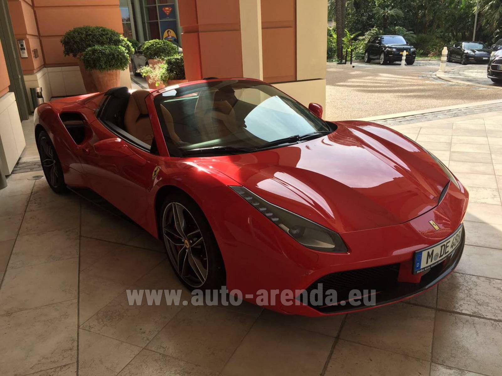 Buy Ferrari 488 Spider 2018 In Munich