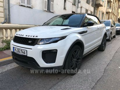 Buy Land Rover Range Rover Evoque Convertible 2017 in Munich, picture 1