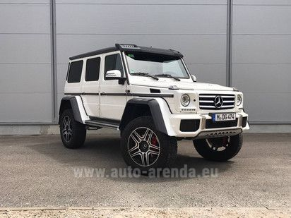 Buy Mercedes-Benz G-Class 500 4x4² in Munich