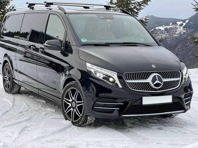 Booking and rental minivan, minibus, VAN 7-seats and its delivery to Bad Wiessee