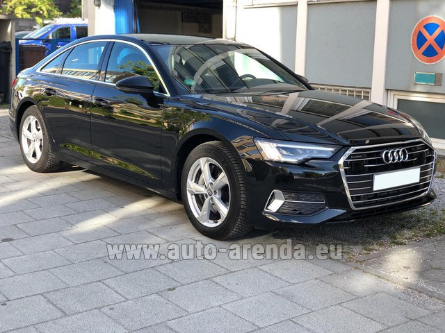 Hire and delivery to Bogenhausen the car Audi A6 45 TDI Quattro