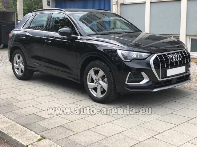 Hire and delivery to Bogenhausen the car Audi Q3 35 TFSI Quattro