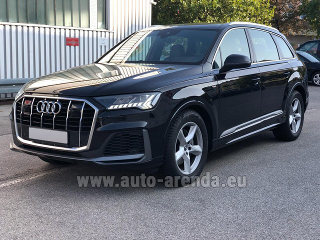 Прокат и доставка в Тегернзе авто Ауди Q7 50 TDI Quattro Equipment S-Line (5 мест)
