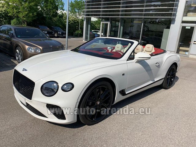 Rental Bentley GTC W12 First Edition in München Bayern