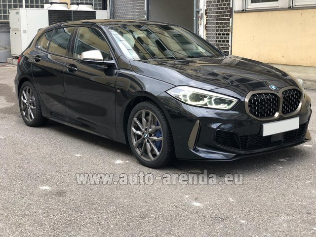 Hire and delivery to the München airport the car BMW M135i XDrive