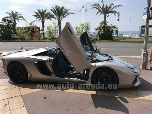 Hire and delivery to Starnberg the car Lamborghini Aventador LP 700-4