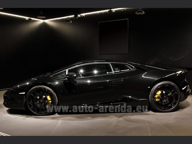 Hire and delivery to Starnberg the car Lamborghini Huracan LP580-2 Lifting System Giano 20