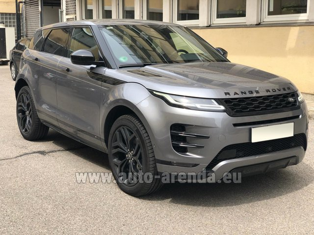 Hire and delivery to Tegernsee the car Land Rover Range Rover Evoque D180SE