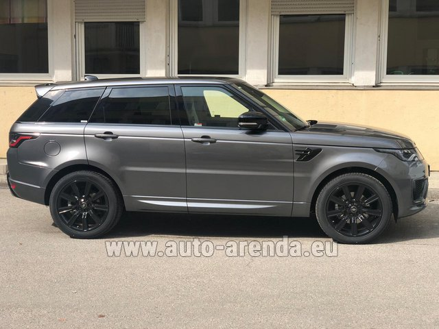 Hire and delivery to Tegernsee the car Land Rover Range Rover Sport SDV6 Panorama 22