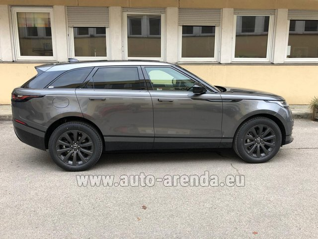 Hire and delivery to Tegernsee the car Land Rover Range Rover Velar P250 SE