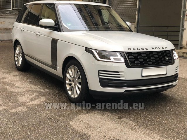 Hire and delivery to Tegernsee the car Land Rover Range Rover Vogue P525