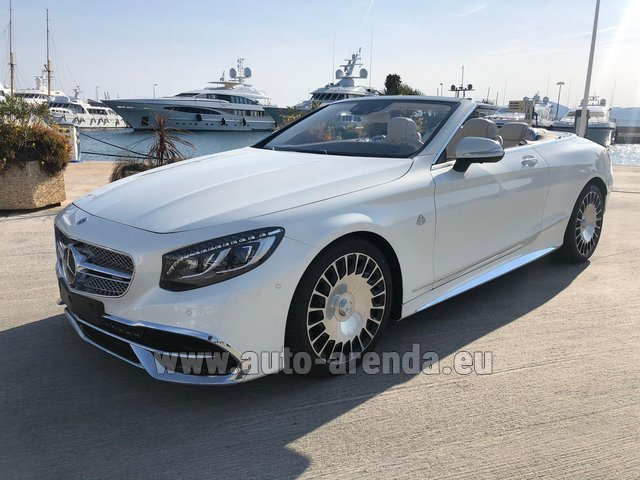 Прокат и доставка в Тегернзе авто Maybach S 650 Cabriolet, 1 of 300 Limited Edition