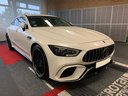 Прокат автомобиля Мерседес-Бенц AMG GT 63 S 4-Door Coupe 4Matic+ и доставка его в Штарнберг, фото 2