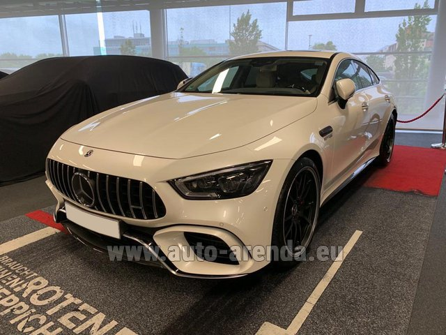 Прокат и доставка в аэропорт Мюнхена авто Мерседес-Бенц AMG GT 63 S 4-Door Coupe 4Matic+