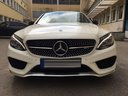 Rent-a-car Mercedes-Benz C-Class C43 AMG Biturbo 4MATIC White with its delivery to Tegernsee, photo 2