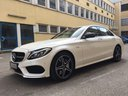 Rent-a-car Mercedes-Benz C-Class C43 AMG Biturbo 4MATIC White with its delivery to Tegernsee, photo 1