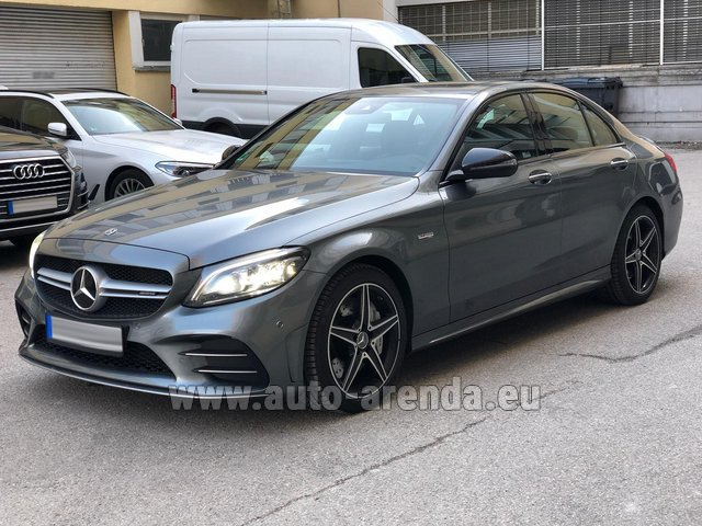 Hire and delivery to Starnberg the car Mercedes-Benz C-Class C43 BITURBO 4Matic AMG