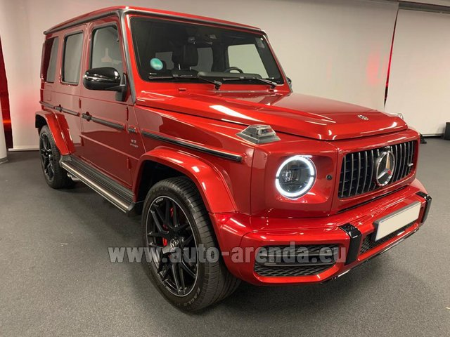Hire and delivery to Schwanthalerhöhe the car Mercedes-Benz G 63 AMG biturbo