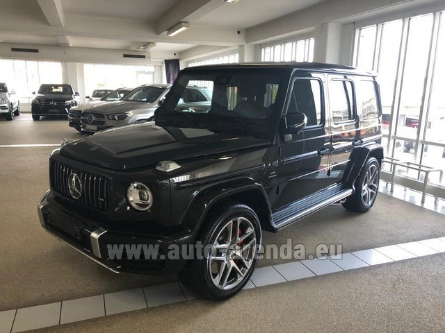Hire and delivery to Schwanthalerhöhe the car Mercedes-Benz G63 AMG V8 biturbo