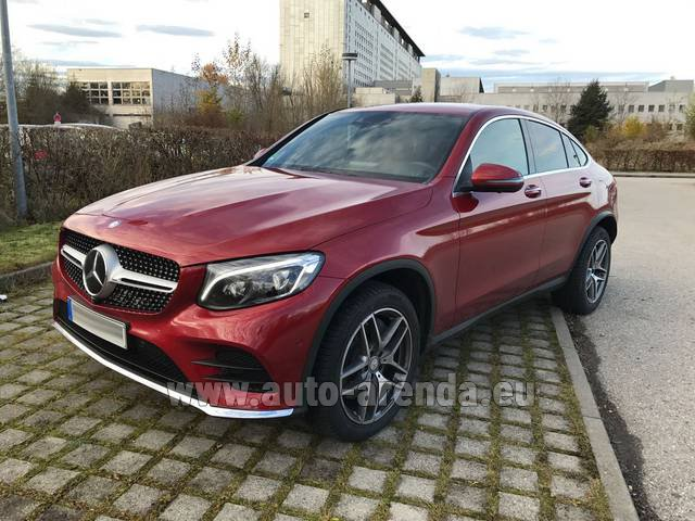Rental Mercedes-Benz GLC Coupe equipment AMG in München Bayern