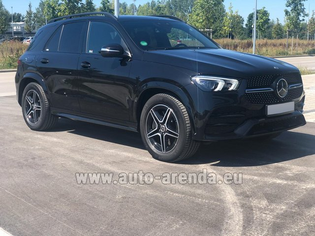 Прокат и доставка в аэропорт Мюнхена авто Мерседес-Бенц GLE 450 4MATIC AMG комплектация