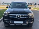 Rent-a-car Mercedes-Benz GLS 350 4Matic AMG equipment with its delivery to the München airport, photo 3