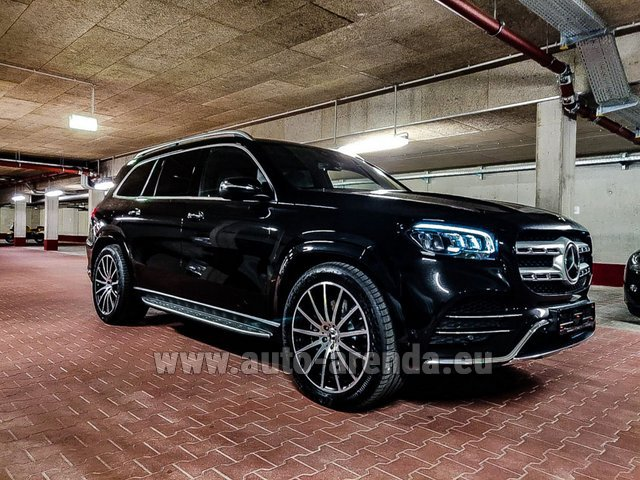 Прокат и доставка в аэропорт Мюнхена авто Мерседес-Бенц GLS 400d 4MATIC BlueTEC комплектация AMG