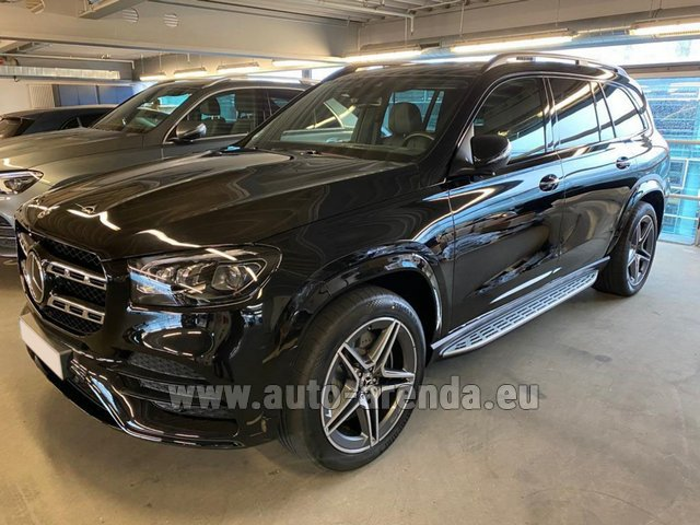 Прокат и доставка в аэропорт Мюнхена авто Мерседес-Бенц GLS 400d BlueTEC 4MATIC комплектация AMG