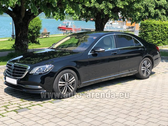 Rental Mercedes-Benz S-Class S400 Long 4Matic Diesel AMG equipment in München Bayern