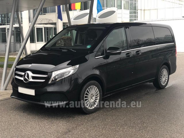 Rental Mercedes-Benz V-Class (Viano) V 300 d 4MATIC AMG equipment in München Bayern