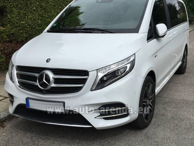 Rental Mercedes-Benz V-Class (Viano) V 250 D 4Matic AMG Equipment in München Bayern