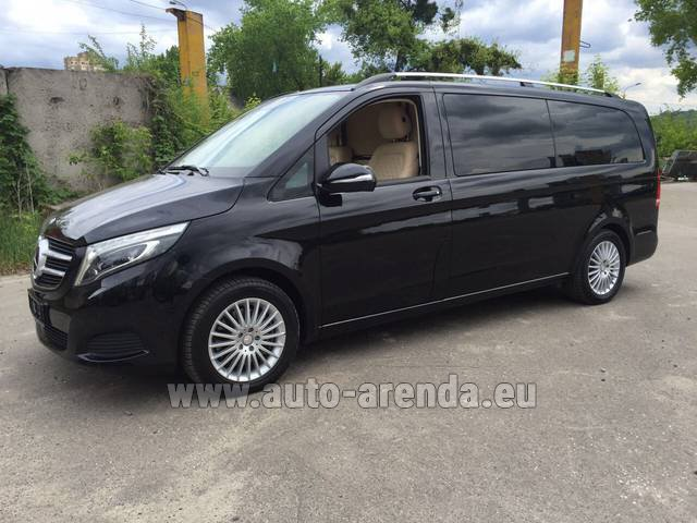 Hire and delivery to Bogenhausen the car Mercedes-Benz V-Class V Limo Business VAN