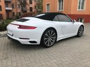 Rent-a-car Porsche 911 Carrera 4S Cabrio with its delivery to Tegernsee, photo 4