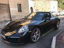 Rent-a-car Porsche 911 Targa 4S with its delivery to the München airport, photo 1
