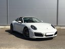 Rent-a-car Porsche 911 Targa 4S White with its delivery to the München airport, photo 1