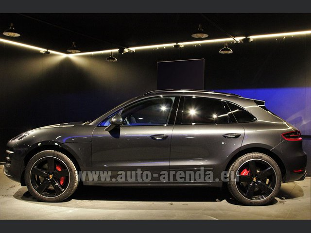 Hire and delivery to Rottach-Egern the car Porsche Macan S Diesel 3.0