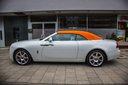 Rent-a-car Rolls-Royce Dawn White with its delivery to the München airport, photo 1