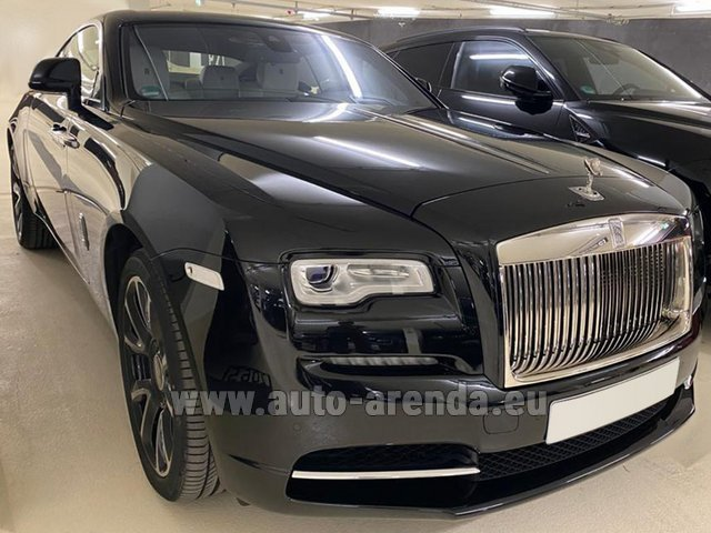 Hire and delivery to the München airport the car Rolls-Royce Wraith