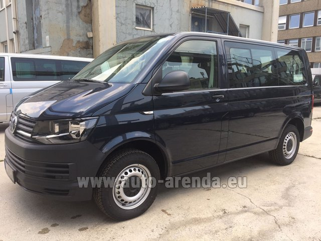 Hire and delivery to the München Train Station the car Volkswagen Transporter T6 (9 seater)